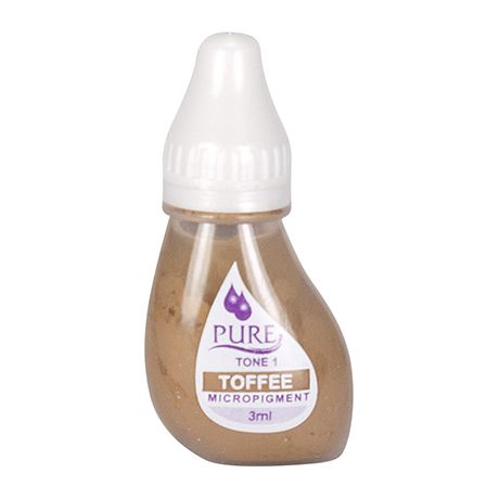 Biotouch Pure Permanent Toffee Makeup - 3ml (6 Bottles)