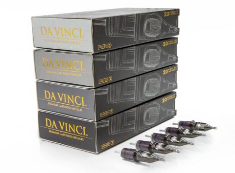 Da Vinci Cartridges - Curved Bugpin Mags