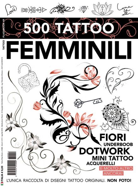 Feminine Tattoo Flash Book