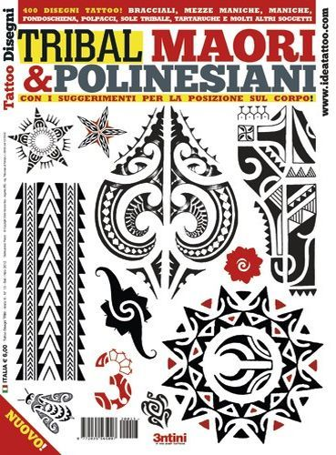 Polynesian and Maori Tattoo Flash Book