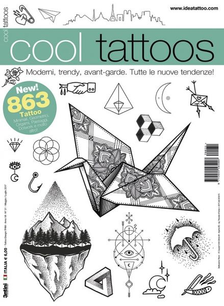 Cool Tattoos Tattoo Flash Book