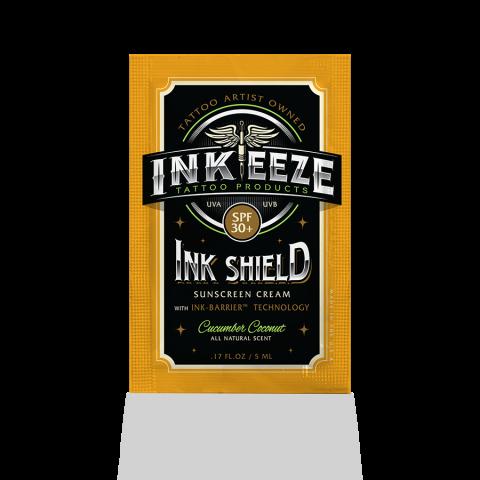 Inkeeze Ink Shield Sunscreen Cream SPF30 5ml Sachet