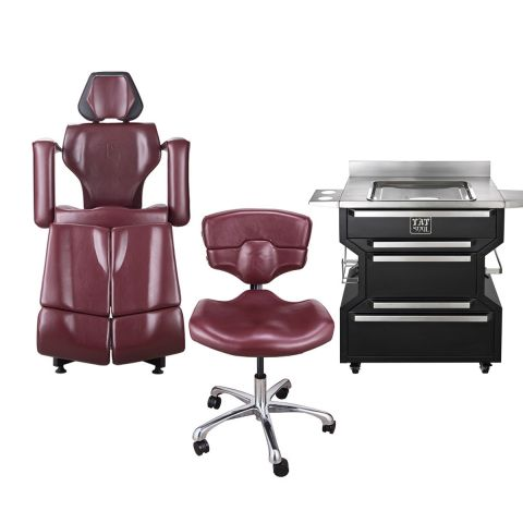 TATSoul Coloured Client / Mako Chair & Base Workstation Package Deal