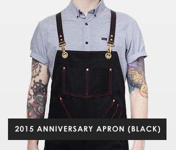 2015 Anniversary Apron - Black