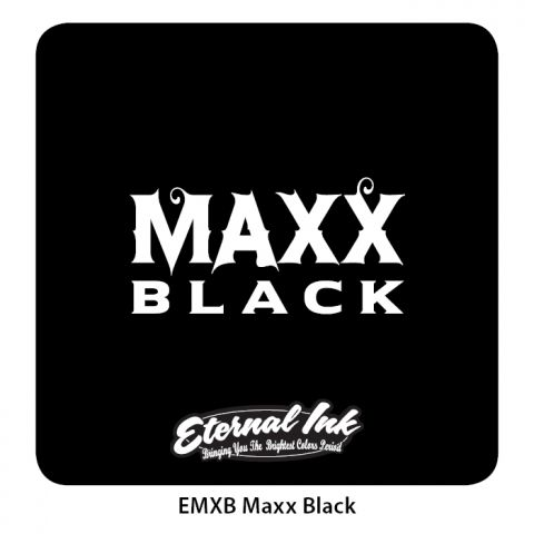 Eternal Ink - MAXX Black 8oz/250ml