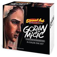 Zestaw 8 kolorów Eternal Ink Goran Micic - 30 ml