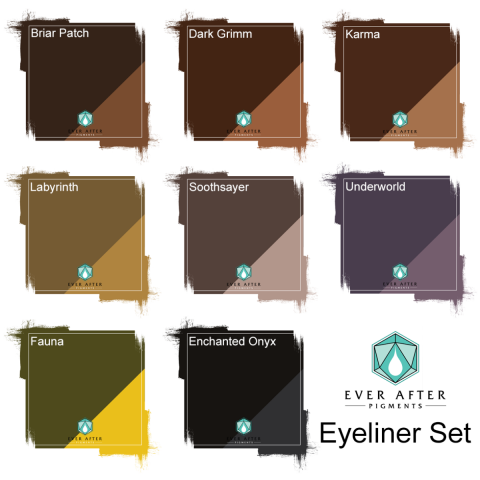 Ever After Pigments - Zestaw Eyelinerów