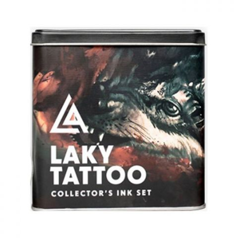 Radiant Ink - 1oz Laky Tattoo 9pc Set