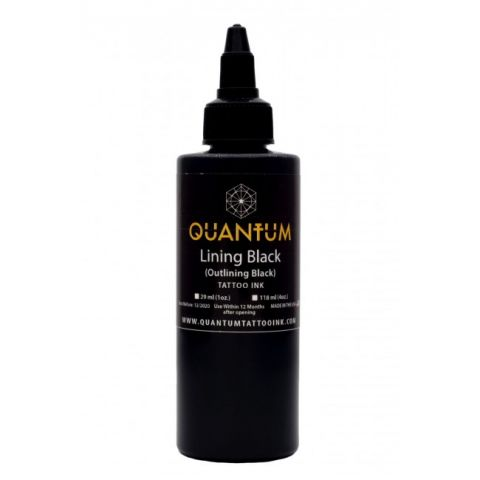 Quantum Ink - Lining Black 4oz/120ml