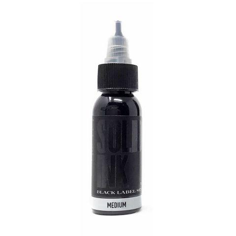 Solid Ink 1oz Black Label G/Wash Medium