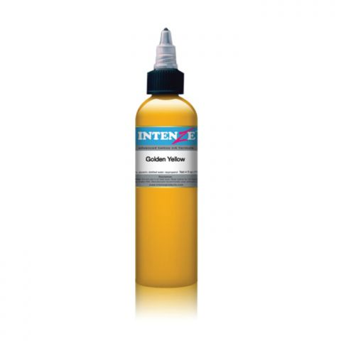 Intenze Ink - Golden Yellow