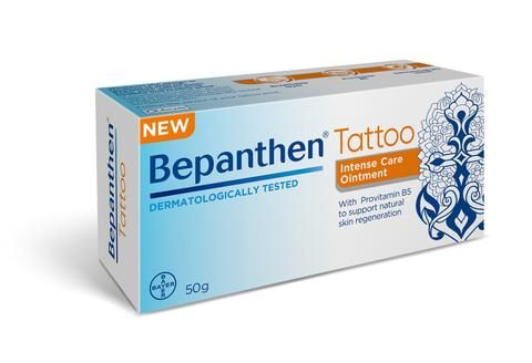 Bepanthen Tattoo Intensive Care Ointment 50g