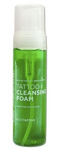 Aloe Tattoo Green Soap Foam - 220ml