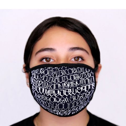 Big Sleeps Face Mask - Black