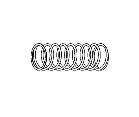 No 79. Inner Piston Spring (for Cartridge use)