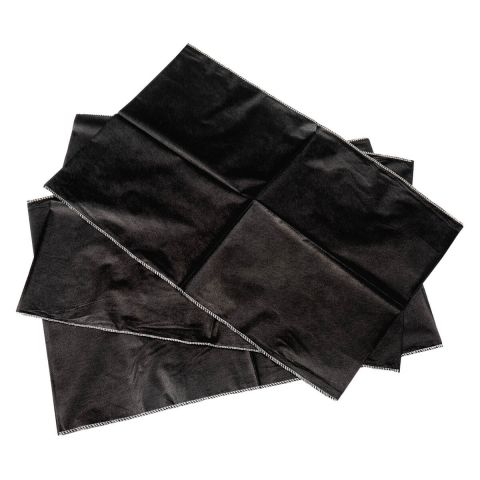 Jet Black Pillow Cases - 100 pack