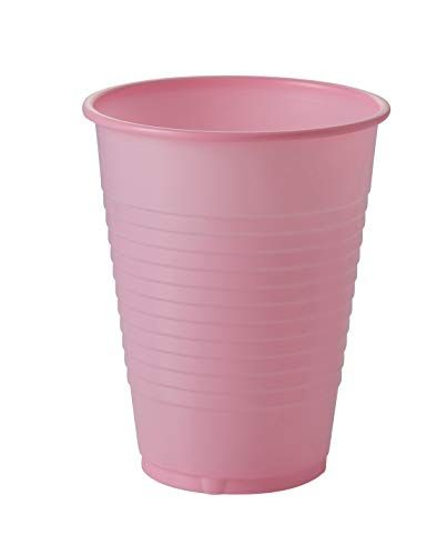 Pink Disposable Rinse Cups (100)