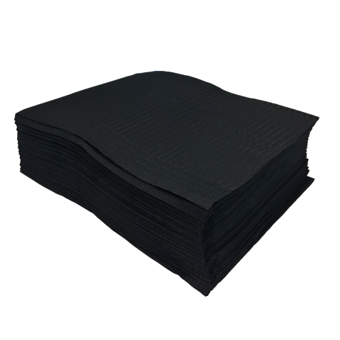Unigloves Select Black Lap Cloths