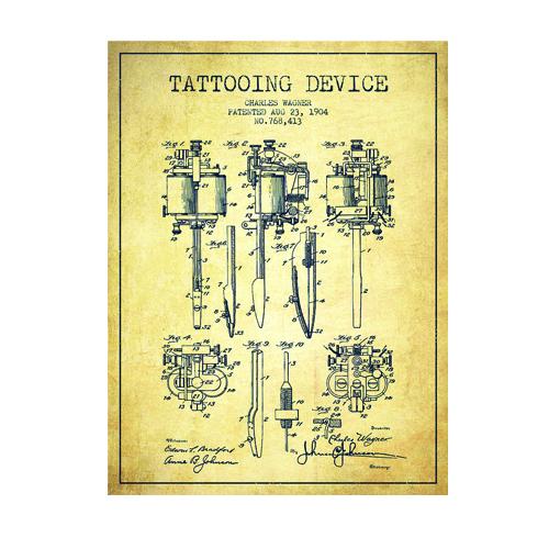 The History of the Tattoo Machine