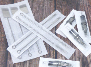 Tattoo Needles: A selection of needles & cartridges for tattooing