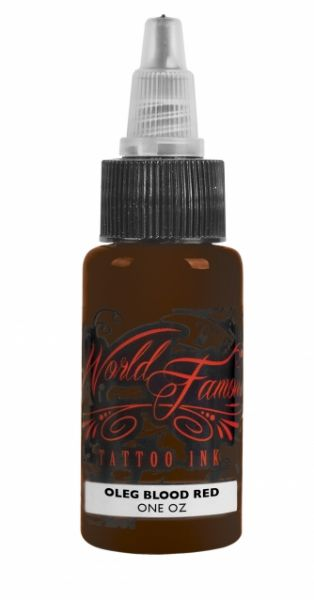World Famous Ink 1oz - Oleg Blood Red