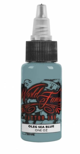 World Famous Ink 1oz - Oleg Sea Blue