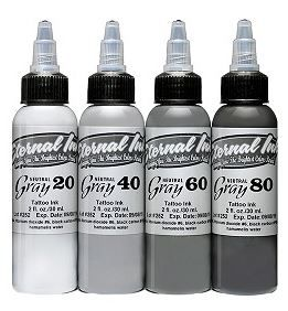 Eternal Ink Neutral Gray Set - 1oz (30ml)