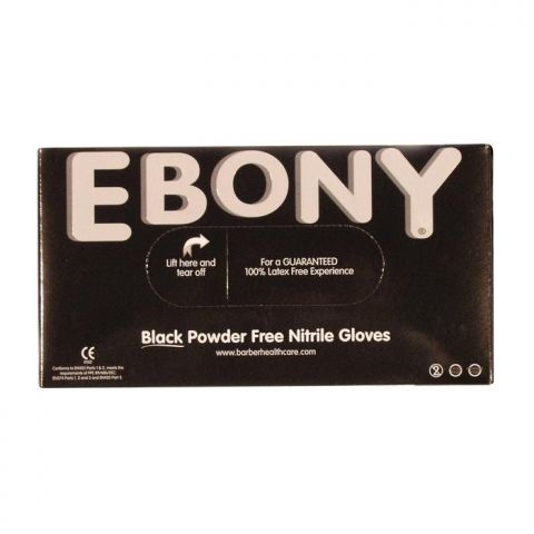 Ebony Nitrile Gloves