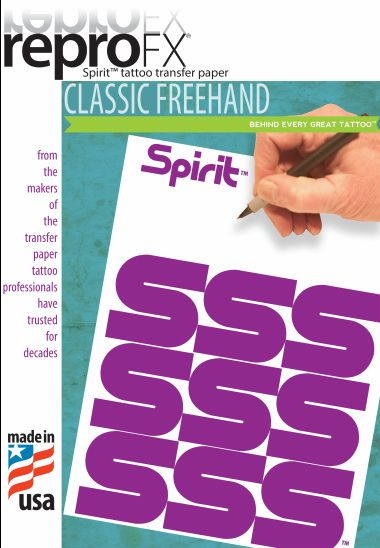 "Spirit Freehand Transfer Paper 8.5x11"""" (100)"