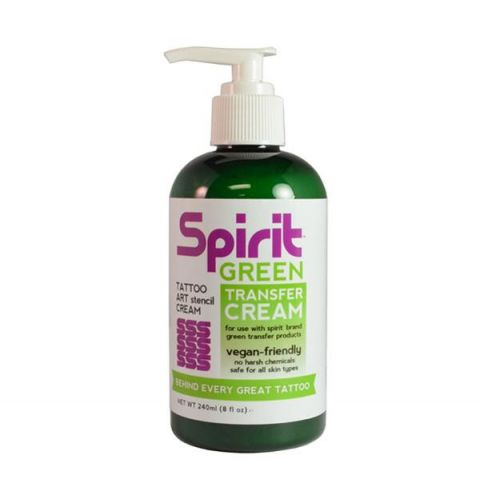 Spirit Green Transfer Cream