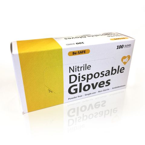 Be Safe Nitrile Gloves