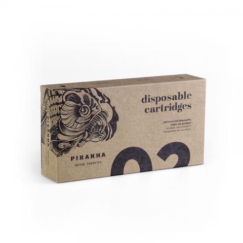 Piranha Round Liner Cartridges