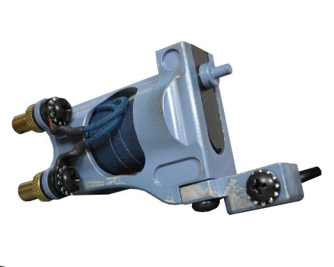 Shagbuilt d20 Rotary Tattoo Machine - Blue