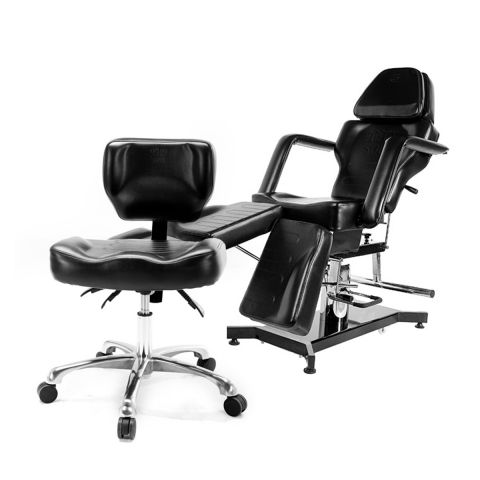 TATSoul Black Artist / Client Chair Package Deal