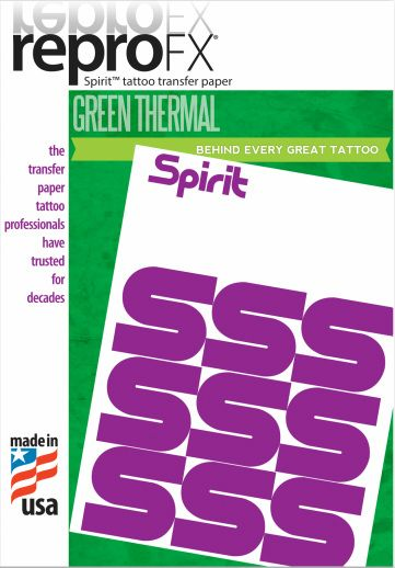 Spirit Green Thermal Paper