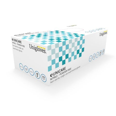 Unigloves Unicare Nitrile Gloves