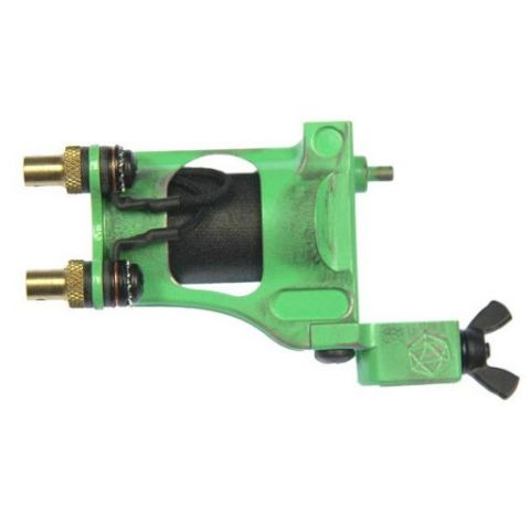Shagbuilt d20 Rotary Tattoo Machine - Venom Green (Special Edition)
