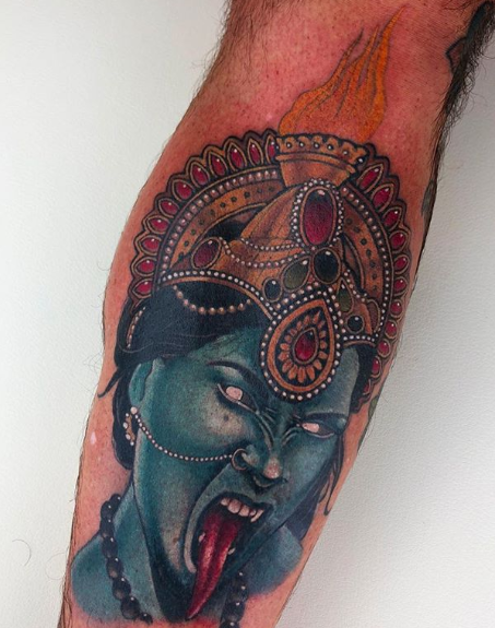 Halloween Tattoos done by Antony Flemming as part of Barber DTS Halloween Blog.
