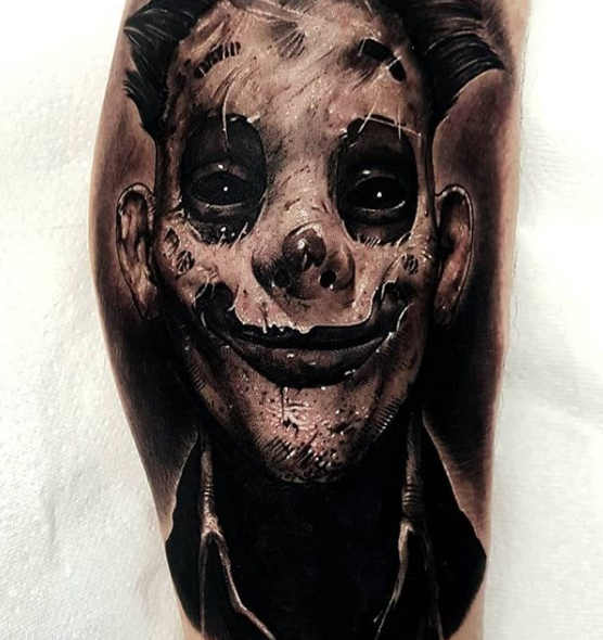 Halloween Tattoos done by Danny Birtwistle as part of The Tattoo Shop Halloween Blog.