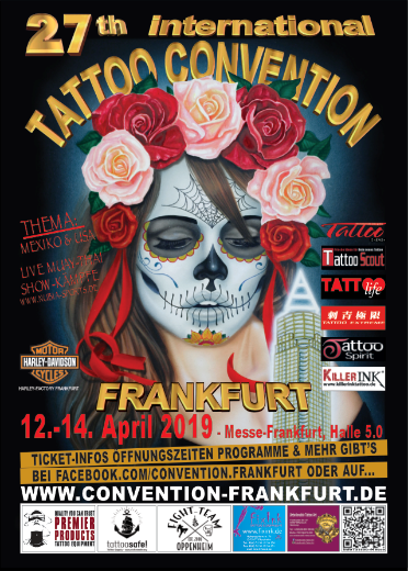 Poster for Frankfurt Tattoo Convention