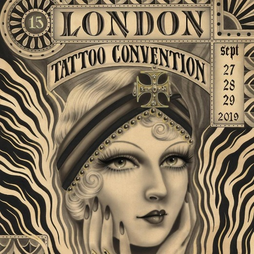 Poster for London Tattoo Convention